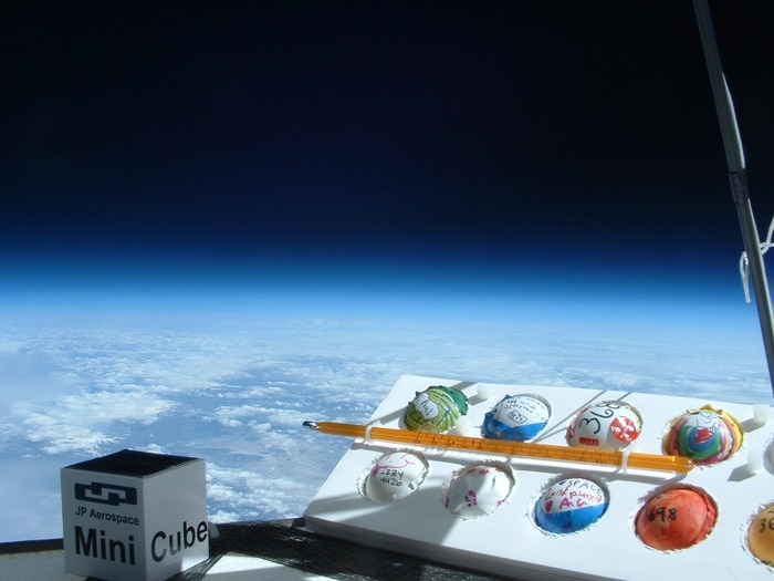 PongSats at the edge of space