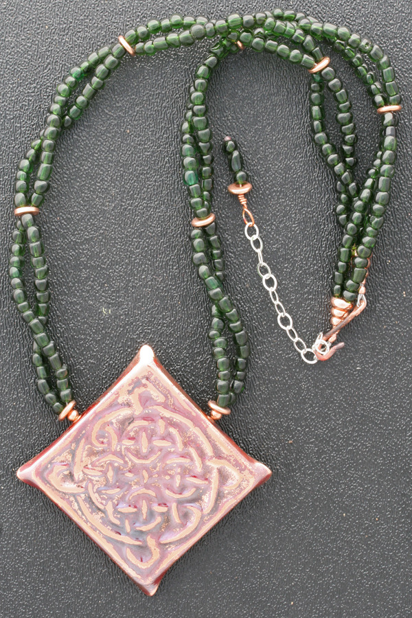 Endless Knot Statement Necklace