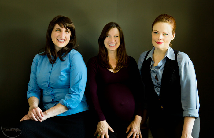 Liz, Lorraine, and Tarah