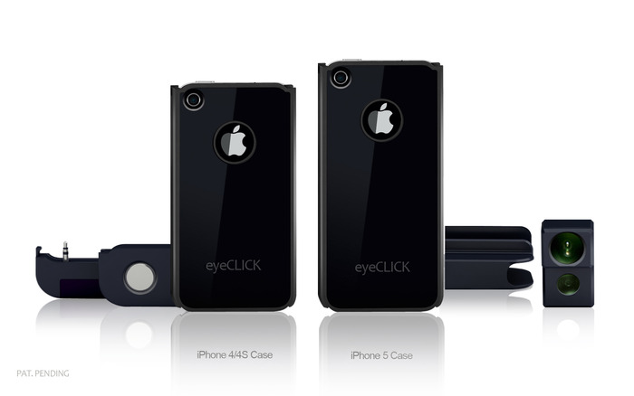 Check out our new rewards! Order the eyeCLICK HD or eyeCLICK HD Pro now and get the same reward for the iPhone 5 later.