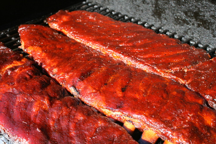 St. Louis Style Pork Ribs with Revolution Barbecue Pork & Chicken Rub