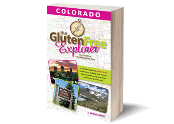 The Cover of The Gluten Free Explorer: Colorado