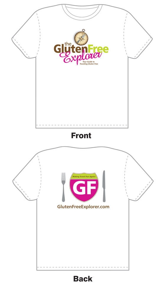 The Gluten Free Explorer T-Shirt Reward