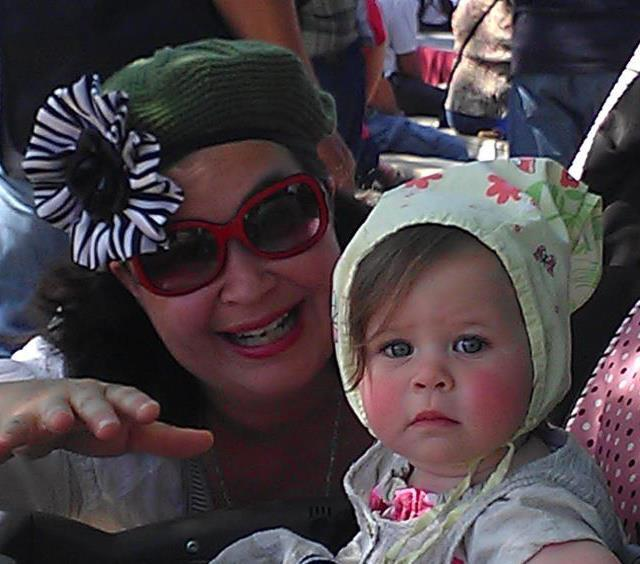 Melody Mooney, Actor, with her daughter, Ella Rose.