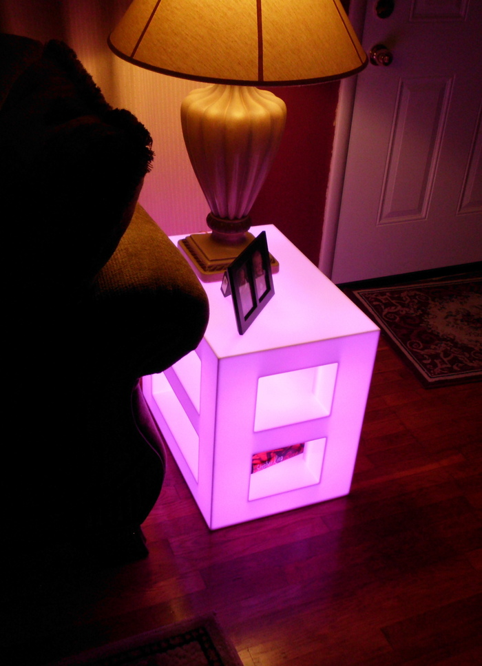 Lighted End Tables
