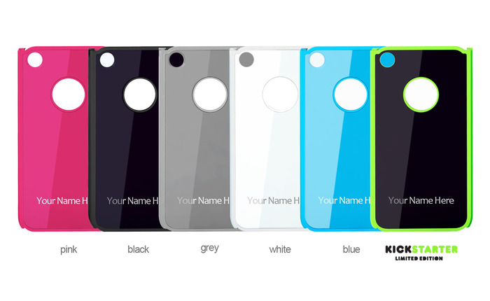 Choose one of our 6 eyeCLICK colors! Including the special Kickstarter black/green and breast cancer awareness Pink!