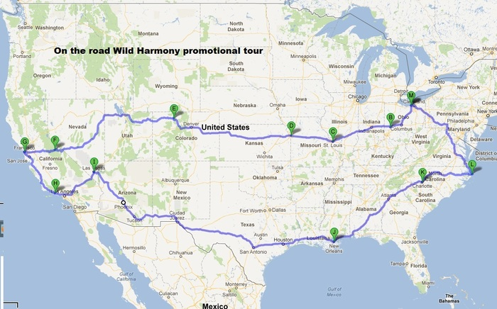 Wild Harmony 'on the road.'