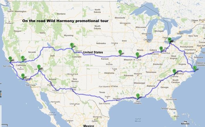 Wild Harmony 'on the road.'