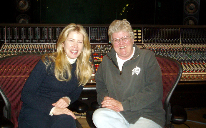 With Grammy winning engineer Leslie Ann Jones