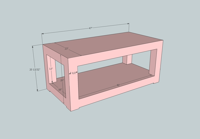 Matching Coffee Table Concept if Kickstarter is Successful!