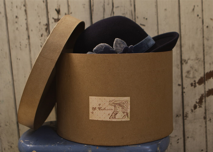 St. Catherinette box for your custom made hat!