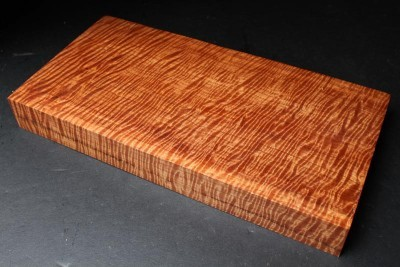 Curly Satinwood is currently offered in several sizes, a 3 inch maze at $110.00 each and more challenging 3.5 and 5 inch mazes with multiple entrances and exits begin at $175.00 and $450.00 each respectively.