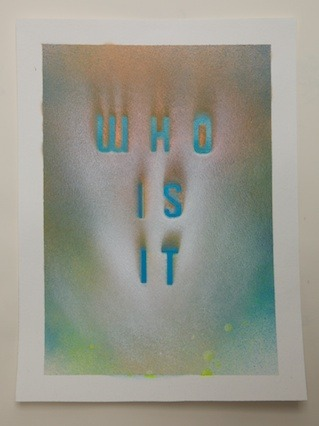 """Who Is It?"", 2012"