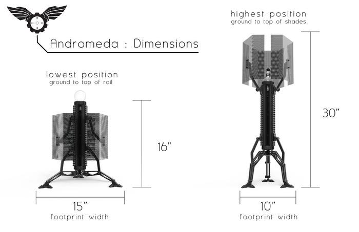 andromeda   tactical lighting by sketchy design studio