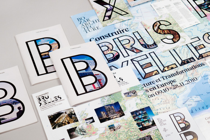 """Building for Brussels"" exhibit design by Project Projects"