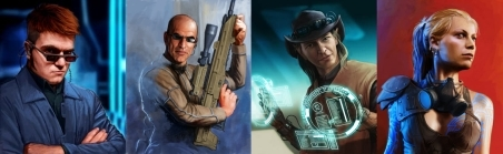 You can see more cool contributor portraits and other SRO art on our Facebook page at http://www.facebook.com/pages/Shadowrun-Online/170199826400835