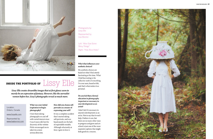 Lissy Elle - Issue 1 Show Pony Magazine