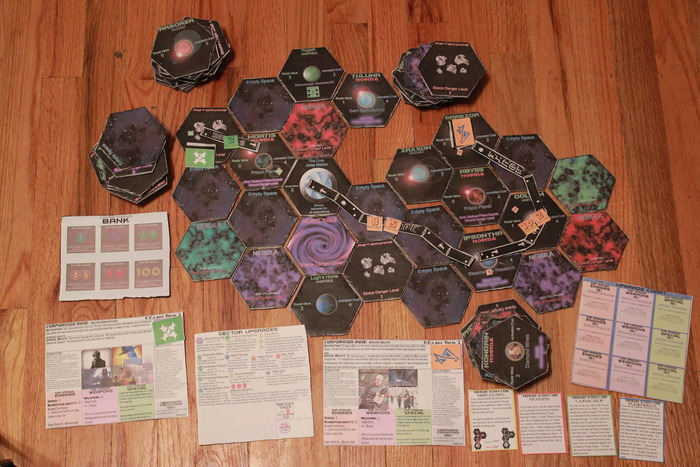 Starways Boardgame Prototype 2