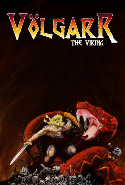 Volgarr Poster (Not final art. Art and layout may change)