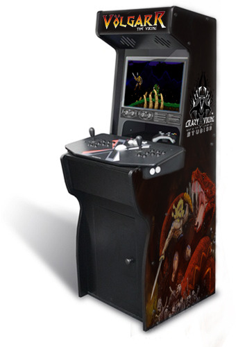 Volgarr the Viking Arcade Machine!