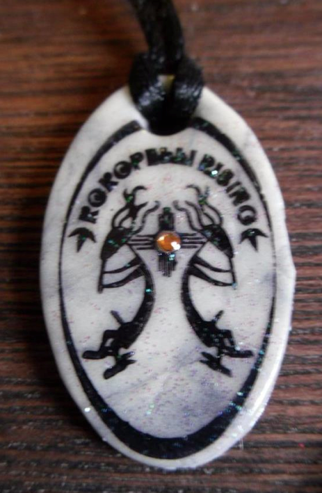 One of the pendants.