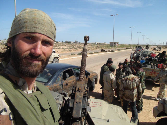 Freedom Fighter Matthew VanDyke in the Libyan Revolution