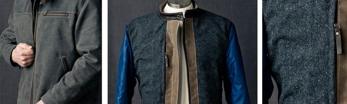 Racer jacket details
