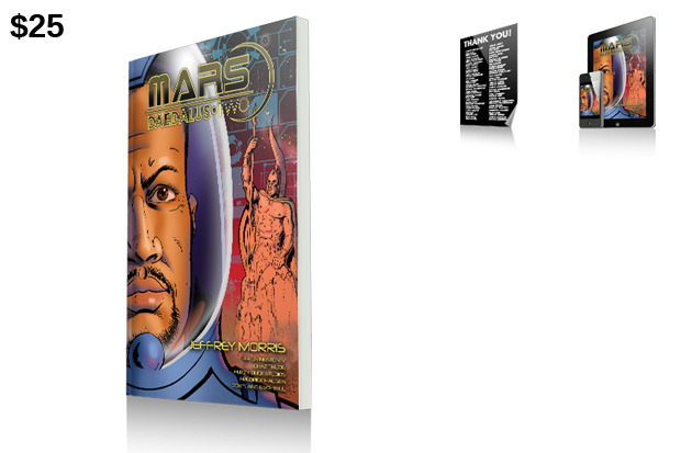 "$25 Reward: Print Edition of ""Mars: Daedalus Two""!"