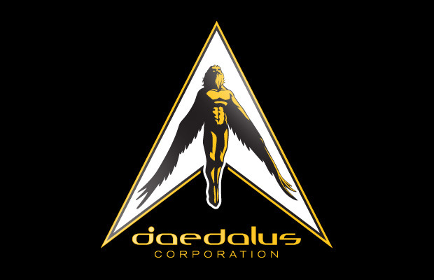 Logo of the fictional Daedalus Corporation