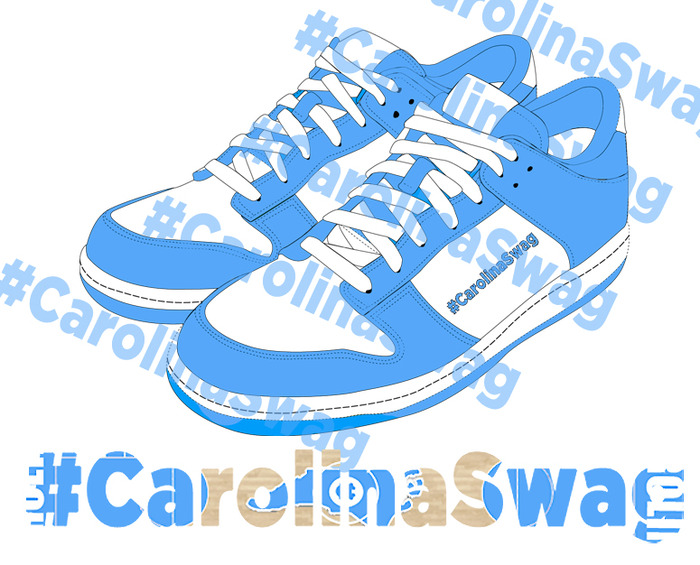 "NEW Limited Edition ""Carolina Kicks"" T-Shirt Design"
