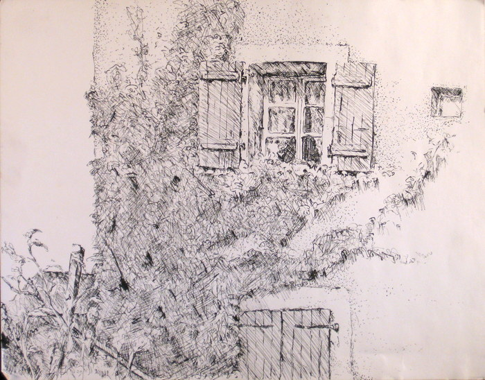 Veigy, 1992, ink on paper
