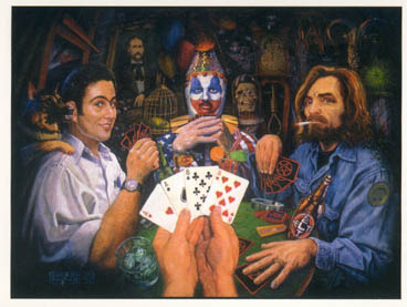 """Dogs Playing Poker"" - this large print of an original work by Steven Gardener and festival Talent Director Robert Prichard can be yours as a $25 donor to RE/Mixed Media 2012!"