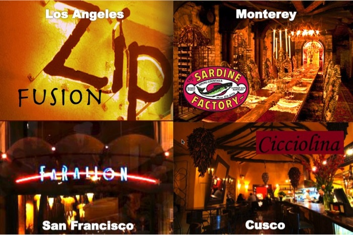 Our Screening Receptions will be held in these cities and at these great restaurants.