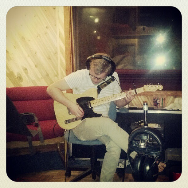 Andrew Camp:  Tracking guitar