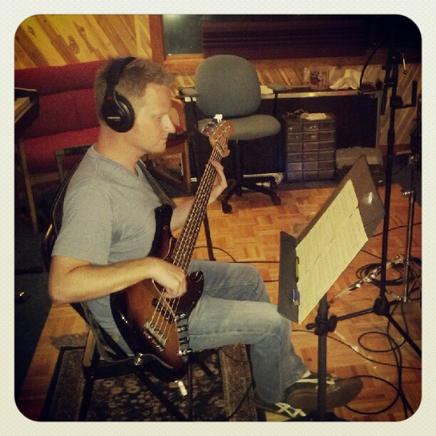 Cliff Kimmerling: Tracking bass
