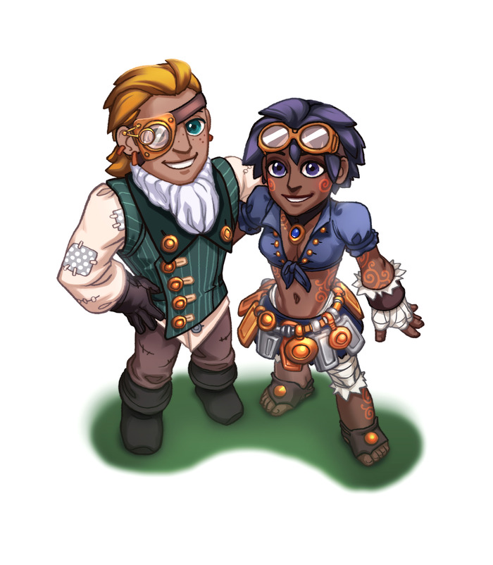 Male Midlander and female Southlander
