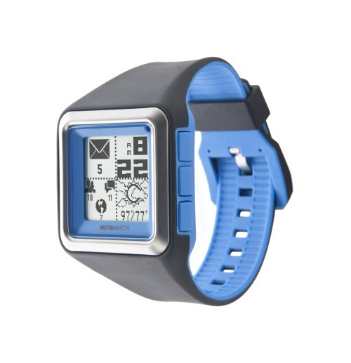 metawatch strata smartwatch for iphone and android headset something