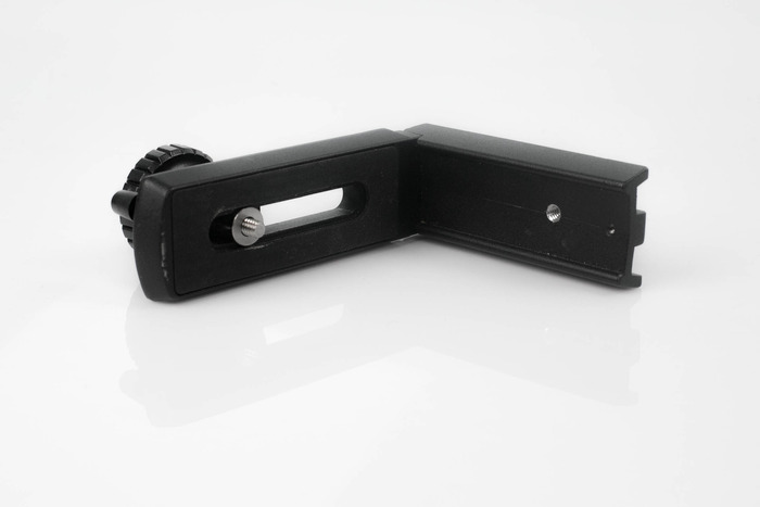 optional L-bracket (simply add $40 to your pledge) for vertical time-lapses!