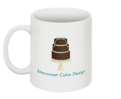 Our Coffee mug, great for dunking cookies in!
