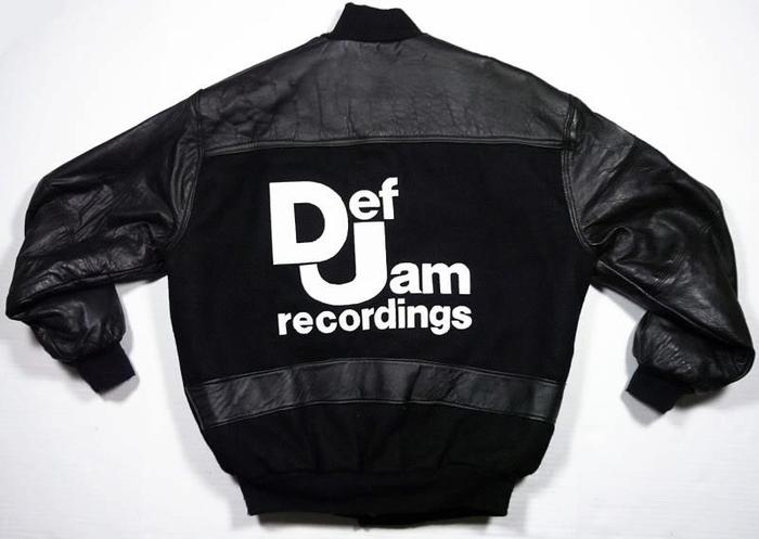 Def Jam Jacket donated by Duane Bruce.  Thanks Duane!