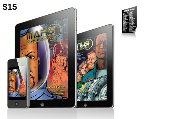 "$15 Reward: Digital Editions of both ""Mars"" and ""Venus""!"