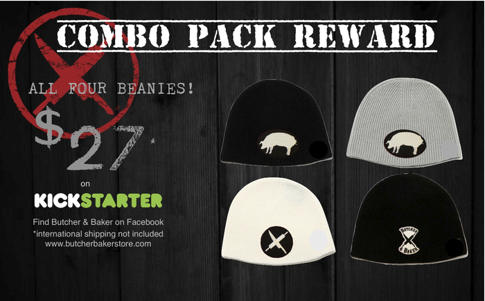 Four Pack of Beanies Reward