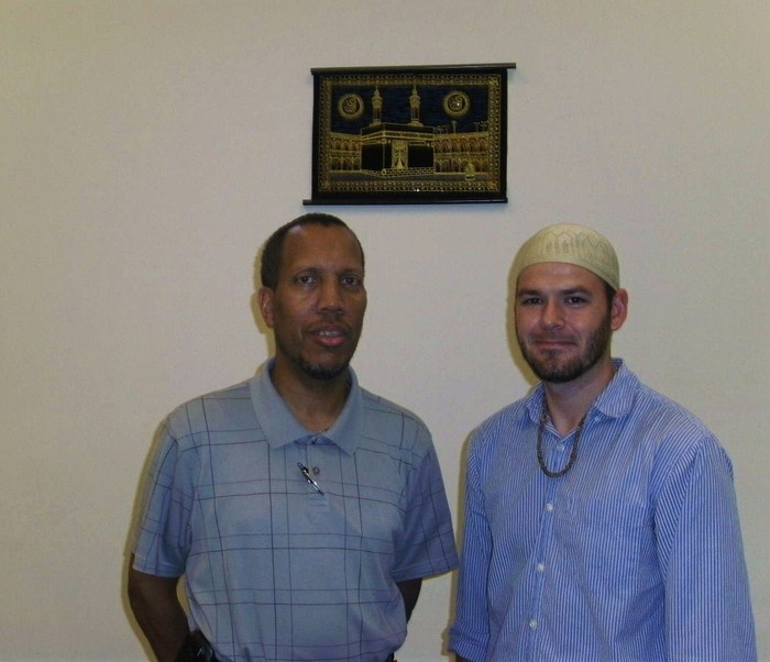 With my Islam Mentor