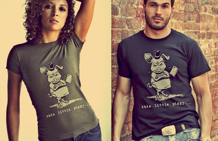 """This Little Piggy..."" Tees"