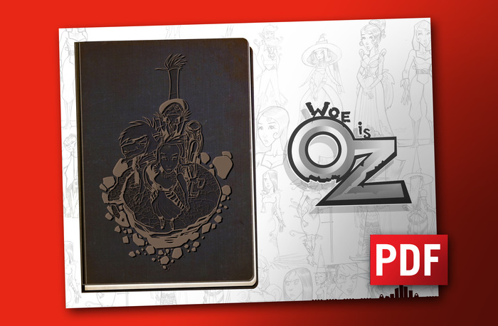Get PDF Download of the first Woe Is Oz Character Book!