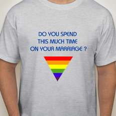 DO YOU SPEND THIS MUCH TIME ON YOUR MARRIAGE ? TEE