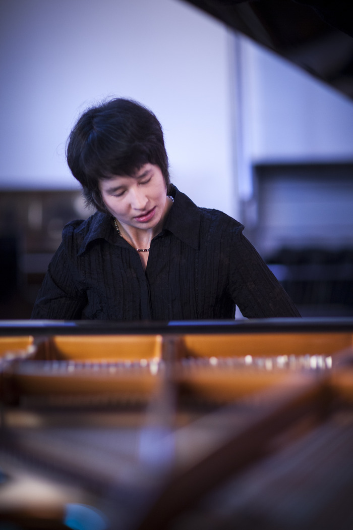 Kimiko Ishizaka performing Bach's Well Tempered Clavier