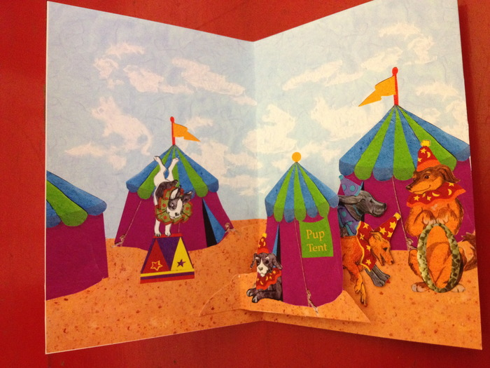 Pup Tent Quintet- Pop-up Art Piece