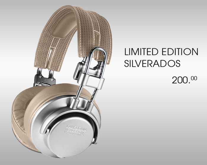 Limited Edition Silverado Over-Ear headphones