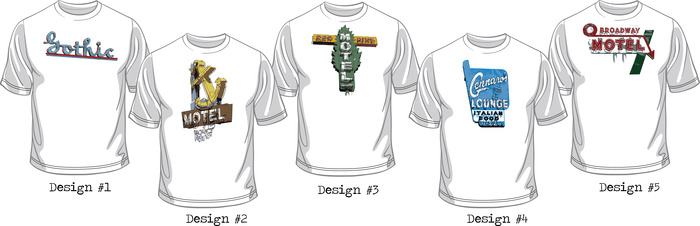 Five Sweet Designs to Choose From! See detailed below.